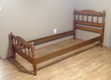 Twin size Headboard, Footboard and Bed Rails in Leesville, Louisiana