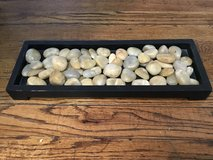 Decorative tray with stones in Algonquin, Illinois
