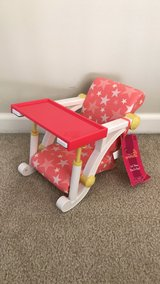 Our Generation Doll Clip On High Chair for American Girl Dolls in Oswego, Illinois