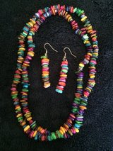 Necklace and earring set in Chicago, Illinois