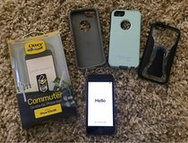 IPhone 5s +Otterbox case, extra skin & 2nd case in Plainfield, Illinois
