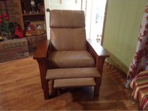 mission style leather recliner! in Lawton, Oklahoma