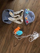 baby Crochet Fishing Outfit in Oswego, Illinois