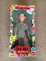 RARE Vintage Matchbox Pee-Wee Herman Non-Talking Poseable Doll In Box in Beaufort, South Carolina
