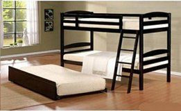 BRAND NEW! URBAN QUALITY SOLID WOOD TWIN BUNKBED WITH MATTRESSES! in Camp Pendleton, California