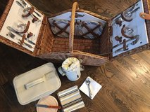 NEW--never used--Huntsman Picnic Basket for Four in Fort Knox, Kentucky