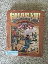 Vintage GOLD RUSH! Computer Game In Box - COMPLETE in Beaufort, South Carolina