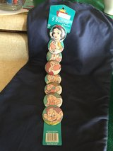 Snow White and the 7 Dwarfs (button pins) in Fort Leonard Wood, Missouri