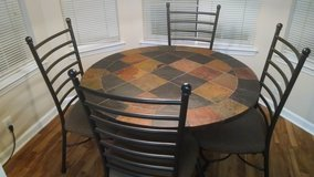 """45"""" Round Stone Top table from Ashley in Wilmington, North Carolina"""