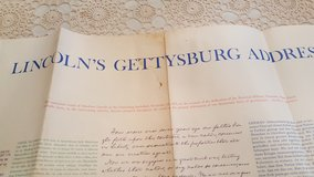 Lincoln's Gettysburg Address in St. Charles, Illinois