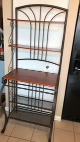 """Kitchen rack shelf's. 27""""w x17""""d x69"""" h. Great condition need it out today. in Lockport, Illinois"""