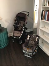 Chicco Keyfit Stroller/Car seat Combo in Beaufort, South Carolina