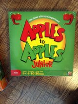 Apples to Apples Junior game in Fort Campbell, Kentucky