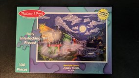 "Melissa and Doug ""Moonlight Express"" Puzzle- 100 pieces in Kingwood, Texas"