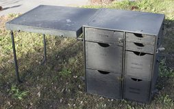 US Military Portable Field Desk in Moody AFB, Georgia