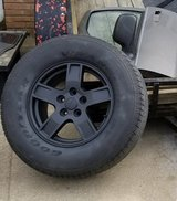 4 Jeep wheels and tires in Clarksville, Tennessee