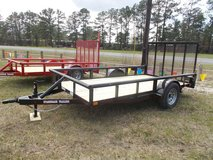 New 2018 Stagecoach Trailer 6x12 in Leesville, Louisiana