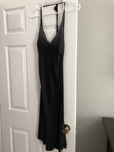 Black cocktail dress in St. Charles, Illinois