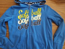 Justice softball zip-up jacket size 12 in Bolingbrook, Illinois
