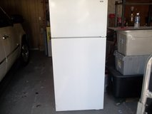 HOTPOINT REFRIGERATOR    NOT TOO PRETTY BUT VERY COLD in Byron, Georgia
