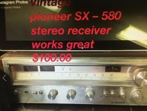 Vintage pioneer SX – 580 receiver works great in 29 Palms, California