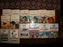 Wagon West Series by Dana Fuller Ross -14 Hardback Books w/ Dust Jackets in Cherry Point, North Carolina