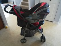 Car seat with stroller in Aurora, Illinois
