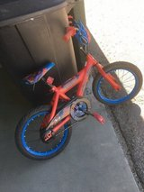 16 inch kids bike Spiderman in 29 Palms, California