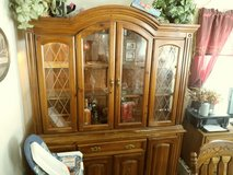 China cabinet in Chicago, Illinois