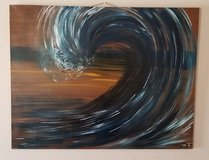 Lrg. Wave original on canvas in El Paso, Texas