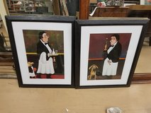 (2) Guy Buffet Waiters Best Friend framed Prints in Chicago, Illinois
