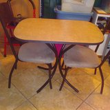 Dinning Table/2 Chairs Set in Lawton, Oklahoma