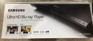 Samsung 4K Blu-Ray Player in St. Charles, Illinois