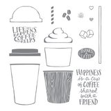 Coffee Café Photopolymer Stamp Set in Stuttgart, GE