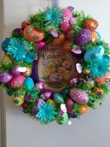 New Easter Wreath in Fort Benning, Georgia