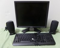 Dell Monitor, Keyboard and Speakers in Kingwood, Texas