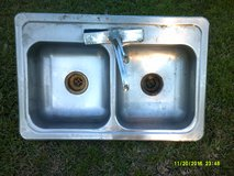 used stainles steel kitchen sink in Pearland, Texas