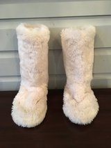 PB Teen Faux Fur Slipper Boots - Size 6-7 in Westmont, Illinois