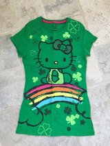 Girls Hello Kitty St. Patrick's Day Shirt - Size XL (12-13) in Chicago, Illinois