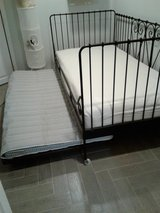 wrought iron daybed w/trundle (Ikea) in St. Charles, Illinois