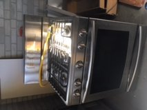 Samsung Gas Range in perfect condition and ready to be taken away in Lockport, Illinois