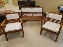 Outdoor Patio chairs and loveseat(World Market) in Bolingbrook, Illinois
