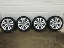 "17"" BMW rims w/ Toyo tires (staggered) in Fort Bragg, North Carolina"