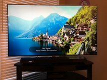 """65"""" Ultra Hd TV with Powerful Sound bar and Sub system. Stand and Blu-ray player in Byron, Georgia"""