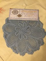 25 blue lace doilies in Kingwood, Texas