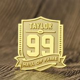 Hall Of Fame Custom Pins in Aurora, Illinois