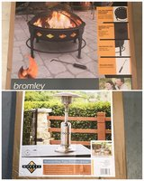 NEW Firepit and Patio Table Propane Heater in Conroe, Texas