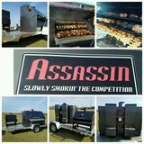Assassin Grill set up w/ trailer in Byron, Georgia