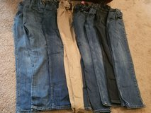 8 Pairs Boys Size 14 Jeans! in Macon, Georgia