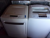 LG Matching Washer and Dryer Set in Fort Riley, Kansas